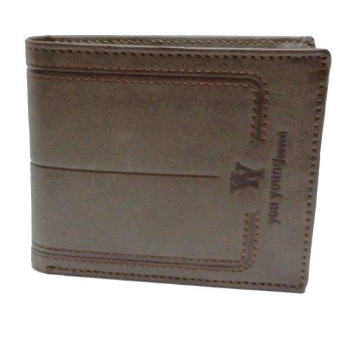 Portafogli tascabile YY You Young Enrico Coveri uomo in pelle art.8824ps50 moro