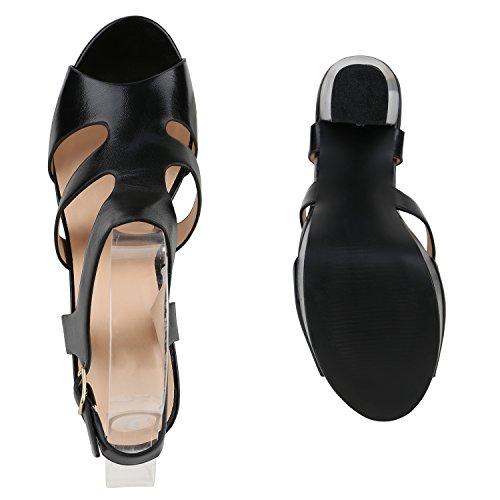 Lisa Fivela Salto Senhoras Pretos Das De De Salto Planalto Sapatos Sandálias Alto Bloco 5Xwq7PP