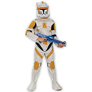 Déguisement officiel Star Wars Clone Trooper Commandeur Cody - pour enfant - large