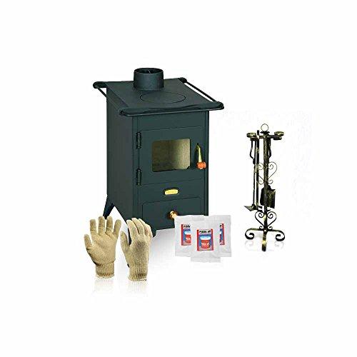 Holzofen Ofen (Holzofen Prity, Modell Mini, Leistung 5 kW, Füße)