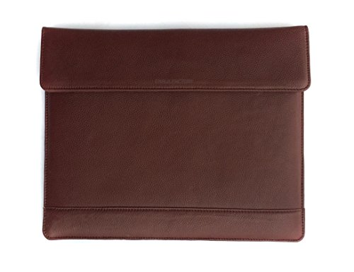 Chalk Factory Leather Sleeve Hard Case Custom Made for ASUS x555lj-xx130d Laptop #PDU, BROWN  available at amazon for Rs.2639