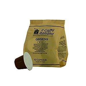 50 capsule compatibili Nespresso - 50 capsule gusto Ginseng compatibili macchina caffè Nespresso - Macchina caffè Nespresso kit 50 capsule compatibili gusto Ginseng - Il Caffè Italiano
