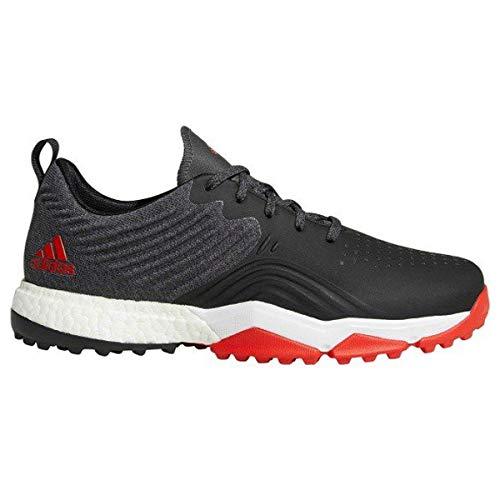 adidas Herren Adipower 4orged S Golfschuhe, Weiß (Negro/Blanco/Rojo B37175), 45 1/3 EU