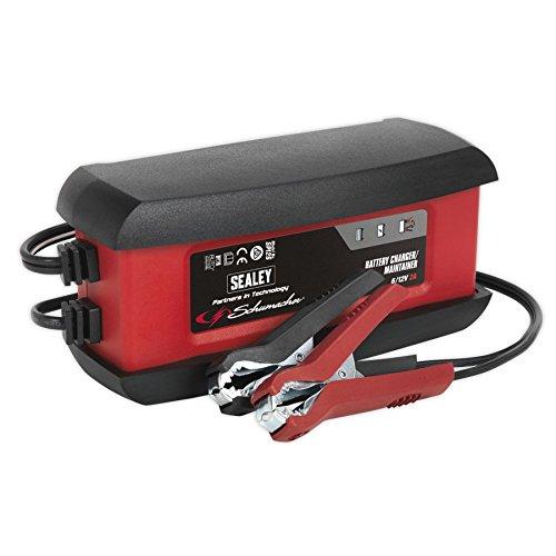 Sealey Intelligent velocità di carica batteria 6/12V, multicolore, SPI2S, 0V