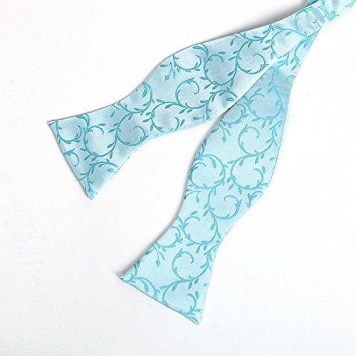 YGA1B01 Sposo modello Vest Mens Cravatta Bowtie gemelli fazzoletto ??migliori regali da Y&G Verde-VS1019