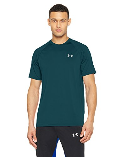 Under Armour Herren Tech T-Shirt, Tourmaline Teal, XXL (Tech Ua T-shirt)