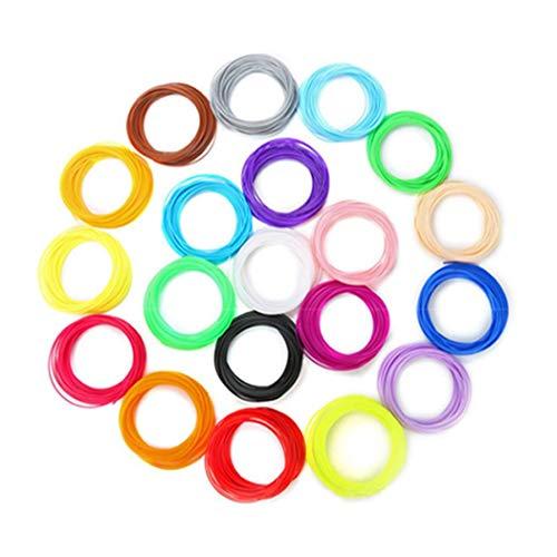 Fishem 10 Rollen PCL 3D Druck Stift Filament Niedrigen Temperatur Druckmaterial 3D-Drucker-Zubehör