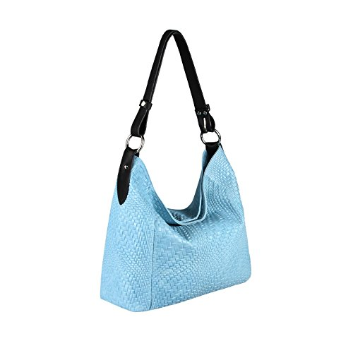 OBC Only-Beautiful-Couture, Borsa tote donna rosa Rosa ca.: 42x33x12 cm (BxHxT) Hellblau