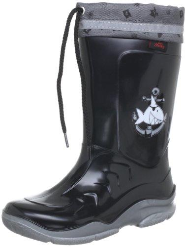 Capt'n Sharky Michael 130021, Stivali ragazzo, Nero, 20