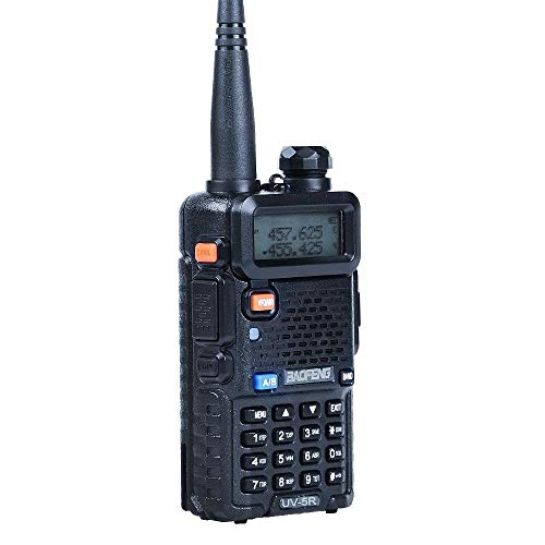 Baofeng UV-5R Dual-Band Ricetrasmittente VHF&UHF 2 m / 70 cm Walkie Talkie...