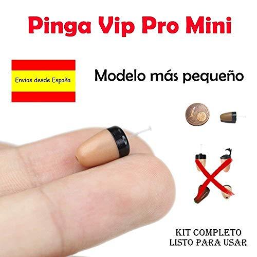 El Pinga Vip Pro Mini es el último modelo de pinga que se caracteriza por ser lo más novedoso del mercado y el pinga más pequeño que nunca se haya fabricado con pila propia. Al ser más pequeño que el resto, se introduce totalmente en el canal auditiv...