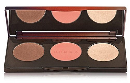 Make-up-palette Bronze (Becca Cosmetics Bronze, Blush and Highlight Sunchaser Palette)