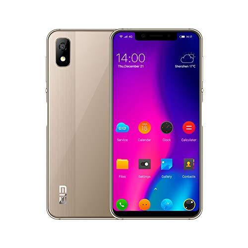 Smartphone 4G Desbloqueado, Elephone A4 Android 8.1 Quad OTG 5.85' 19: 9 Pantalla Completa 3GB RAM + 16GB ROM...
