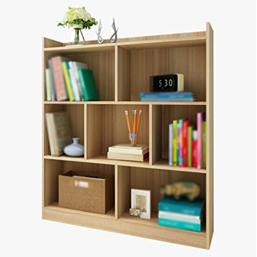 Estantería, Combinación Armario con estantería Paneles a base de madera Nogal Color