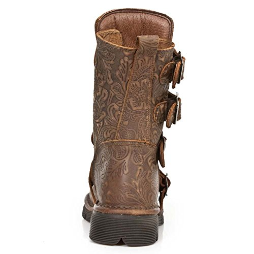 New Rock Comfort Light Braun Stiefel M.1471-S23 Brown