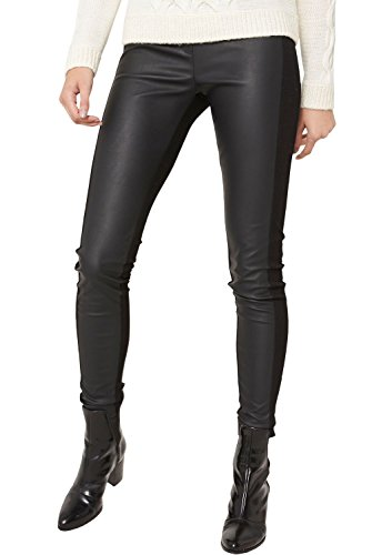 s.Oliver BLACK LABEL Damen Legging 11.410.75.5271, Gr. 38, Schwarz (black twilight 9999)