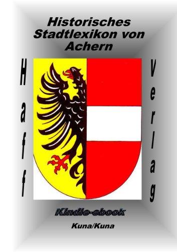 Historisches Stadtlexikon von Achern