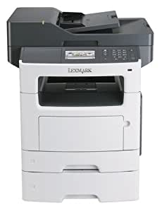 Lexmark MX511dte Laser A4 - multifonctions (Laser, Mono printing, Colour copying, Mono scanning, Mono faxing, 100000 pages par mois)