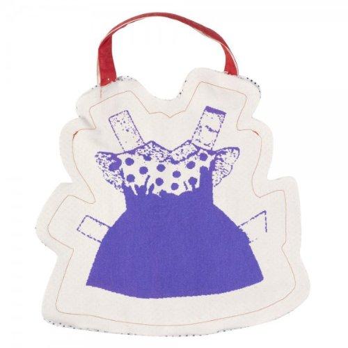 Cabas en coton Paper Dolls Violet