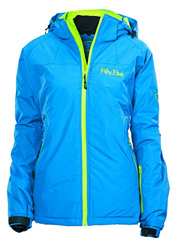 Fifty Five Glory Damen Skijacke Snowboard Jacke Blau 42 Warm Wasserdicht