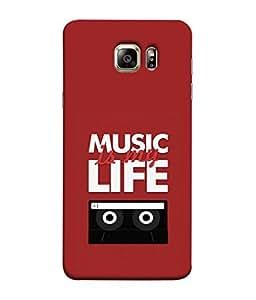 PrintVisa Designer Back Case Cover for Samsung Galaxy S6 G920I :: Samsung Galaxy S6 G9200 G9208 G9208/Ss G9209 G920A G920F G920Fd G920S G920T (Music Life Cassette CDs Compact Disk)