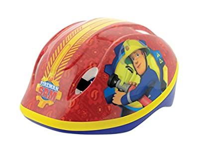 Fireman Sam Boy Safety Helmet, Red, Medium from MV Sports and Leisure Ltd
