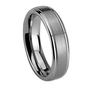 Fashion Plaza 8mm Men's Tungsten Carbide Ring Wedding Engagement Ring Size 7 8 9 10 11 12 R370 Size N