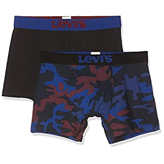 Levi's Levis Camo Boxer Brief 2p Bañador (Pack de 2) para Hombre