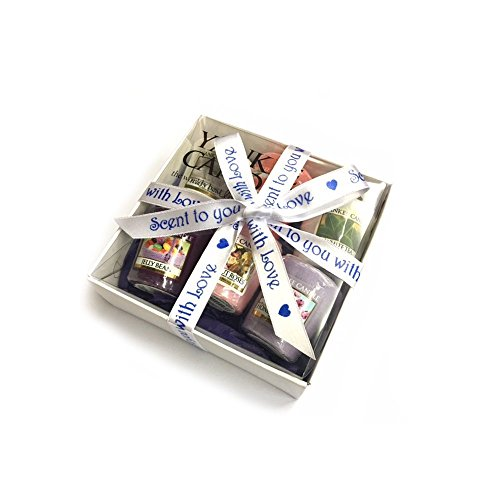 Easter gifts for her amazon bespoke 6 votives incl jelly bean gift box white scent with love blue ready to give as a gift for birthday special friend easter gift special occasion negle Choice Image