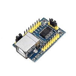 ZhanPing FT232RL FT232R-Modul USB zu serieller Schnittstelle USB zu TTL-Adaptermodul Mit 1,5 m Kabel 3,3 V oder 5 V Conversion Plattenmodul