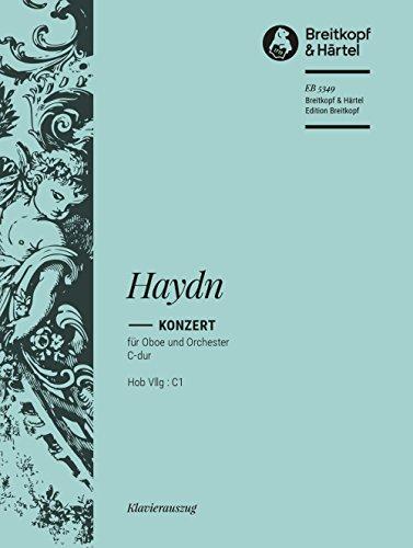 Oboenkonzert C-dur Hob VIIg:C1 - Ausgabe für Oboe und Klavier (EB 5349)