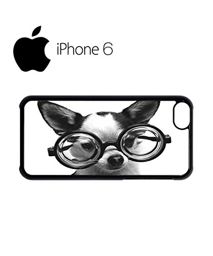 Doggie Geek Nerd Cute Swag Mobile Phone Case Back Cover Hülle Weiß Schwarz for iPhone 6 White Schwarz