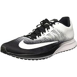 Nike Air Zoom Elite 9, Calçado de corrida para homem, Multicolorido (Noir / discret / blanc), 43 EU
