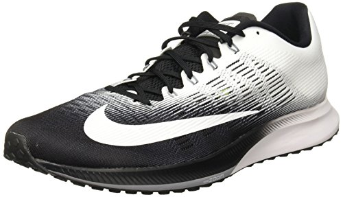 Nike Herren Air Zoom Elite 9 Laufschuhe, Schwarz (Black/White/Stealth 001), 44.5 EU (Nike-elite)