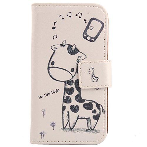 Lankashi PU Flip Leder Tasche Hülle Case Cover Schutz Handy Etui Skin Für Leagoo Z6 5