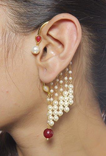 ethnic-schmuck-lebendige-designer-indischen-cuff-ohrringe-vergoldet-faux-pearl-partywear-jewelry