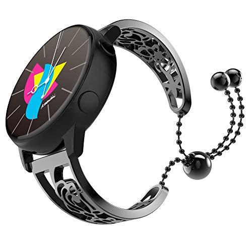 MoKo Cinturino Orologio Smartwatch Galaxy Watch Active/Active 2/Galaxy Watch 42mm/Gear S2 Classic/Ticwatch E/Garmin Vivoactive 3,...