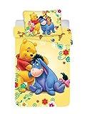 DP Disney Winnie Pooh Baby Bettwäsche 100x135 cm, Kissen 40x60 cm 100% Baumwolle Bunt