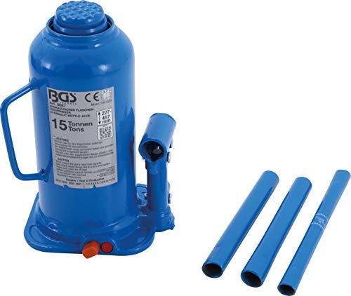 BGS 9887 | Hydraulischer Flaschen-Wagenheber | 15 t | Stempelwagenheber