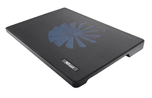 Trust Frio Laptop Cooling Stand (160 mm) - Notebook Kühler für Notebooks bis 39,6 cm (15,6 Zoll) (Netbook Kühler)