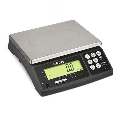 PC Waage Digital Gram RZ30(30kg Kapazität und Auflösung von 2gramm) Größe 29x 23cm (Digital Waage Gramm Auflösung)