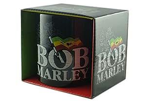 Tasse reggae bob marley à l'effigie du groupe de rock-logo-livré dans un coffret cadeau