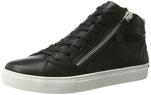 CRIME London Java Mid, Sneakers Hautes Homme Noir (Schwarz)