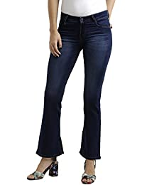 Miss Chase Women's Flared Jeans