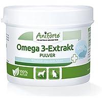 AniForte Omega de 3 Extracto de 100 g – Producto Natural para Perros y Gatos –