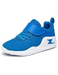 niños al aire libre casual Zapatos Zapatos deportivos de los antideslizantes moda adolescentes Negro Azul Rojo