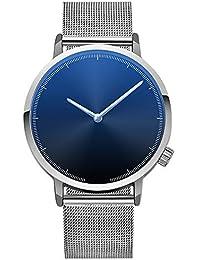 Bestow Reloj Cl¨sico de Acero Inoxidable con Cuarzo Dorado para Mujer