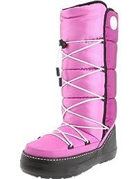 Crocs Kosmoboot Women - Botas de nieve, color: Gris, Rosa (Pink/Viola/Orchid bzw. Vla/Ord), 36
