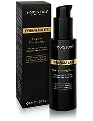 Simon & Tom Neckline Premium Lift – Crème raffermissante et liftante pour cou et decolleté, huile d'Argan ✔ phyto tenseurs ✔ 100ML