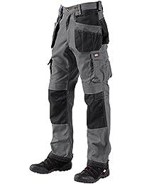 Lee Cooper 210 Pantalon Cargo Long pour homme, gris
